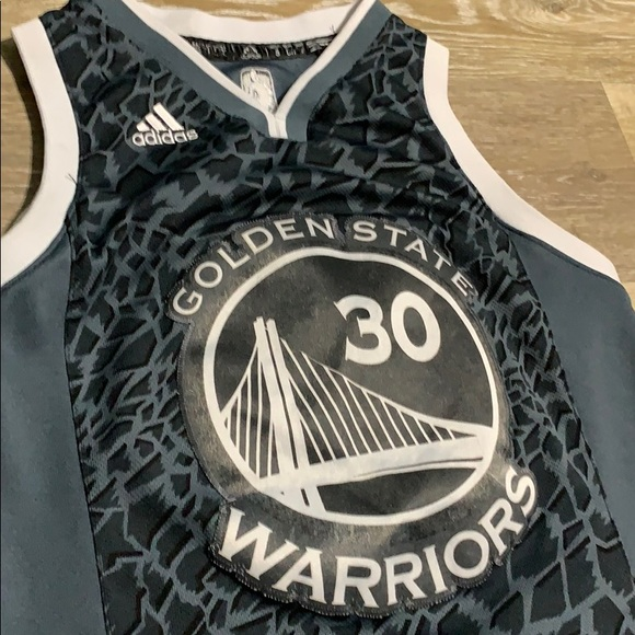 buy online d05e0 ba87d 🔥Adidas Stephen Curry Jersey kids Sz Small 8🔥
